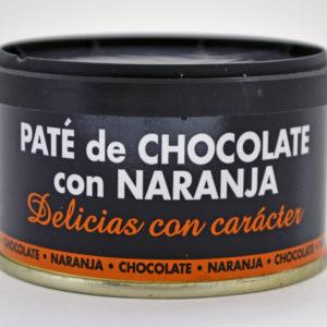 pate de chocolate con naranja