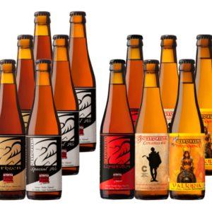 12 Cervezas artesanas Enigma Degustación
