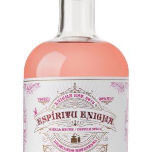 Ginebra artesana Espíritu Enigma Pink Gin Flor de Jamaica