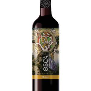 vino tinto roble osca