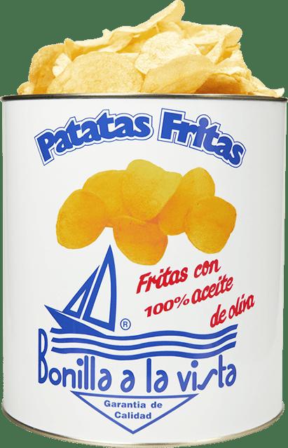 Patatas Fritas Bonilla lata500grs